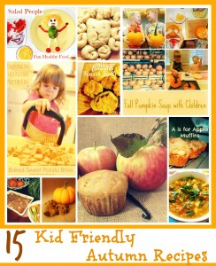 15 Kid Friendly Autumn Recipes