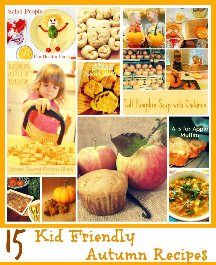 15 kid friendly autumn recipes that are delicious and fun to make. ChristianMontessoriNetwork.com
