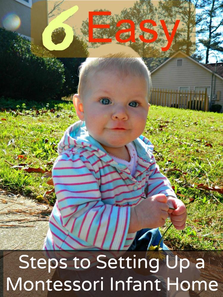 6 Easy Steps to Setting Up a Montessori Infant Home ChristianMontessoriNetwork.com