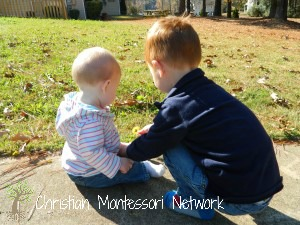 Montessori parents should rework their thinking when they are setting up a Montessori infant home. ChristianMontessoriNetwork.com