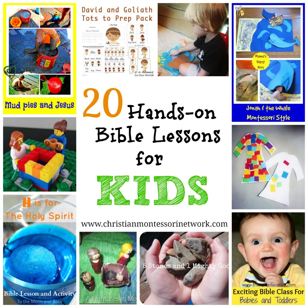 20 Hands-On Bible Lessons for Kids