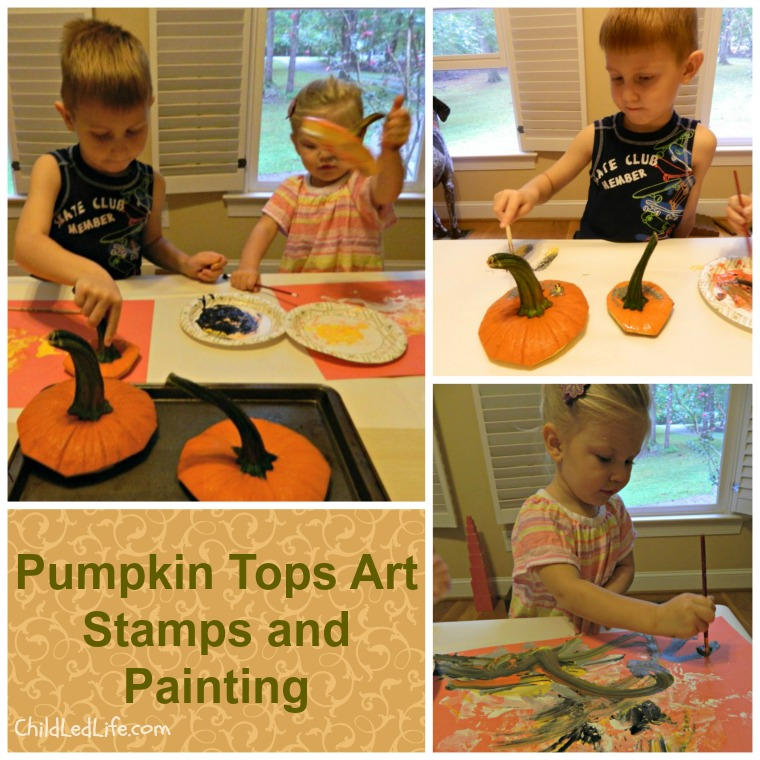 Pumpkin-Painting-Collage