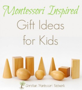 Montessori Inspired Gifts for Kids