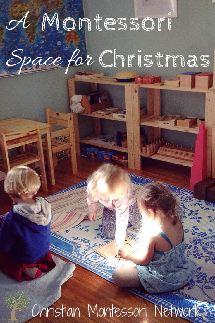 A Montessori Space for Christmas