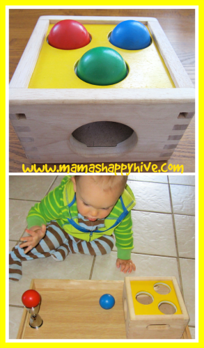 Ball and Box Game - www.mamashappyhive.com