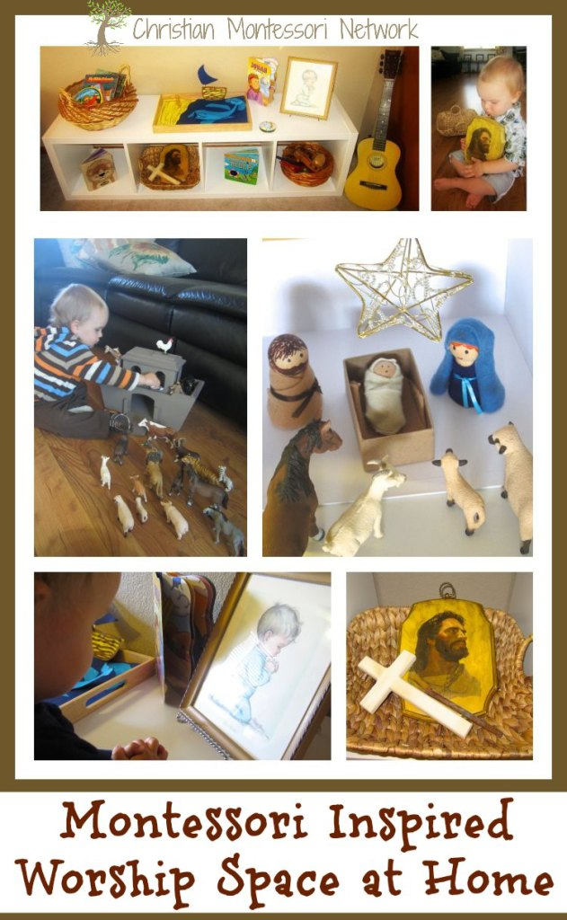 Montessori Inspired Worship Space at Home - ChristianMontessoriNetwork.com