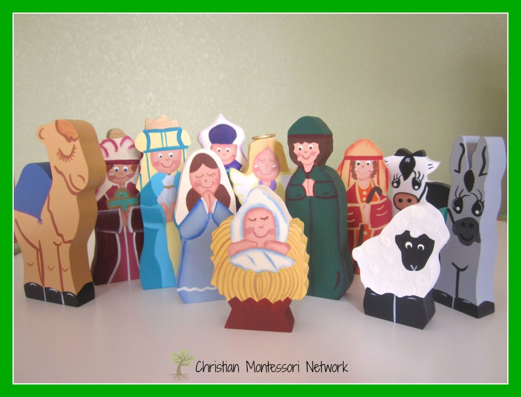 nativity set etsy