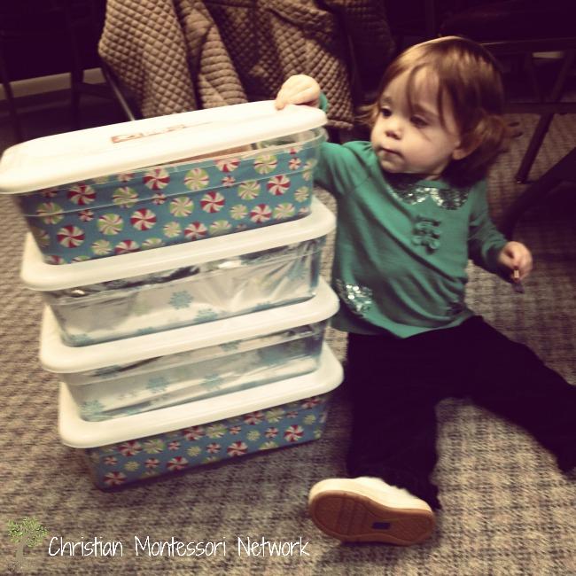 Operation Christmas Child - Keeping Christ in Christmas. ChristianMontessoriNetwork.com