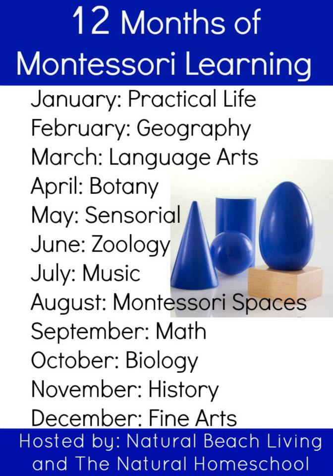 12 Months of Montessori Learning - ChristianMontessoriNetwork.com