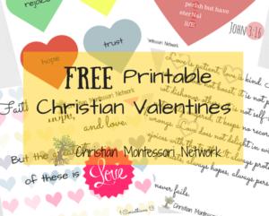 Free Christian Valentines Printables