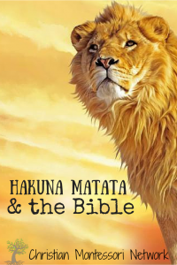 Hakuna Matata & the Bible {plus free printable Scripture cards}