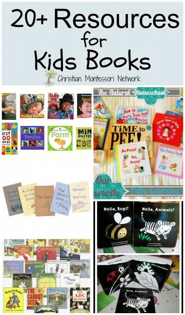 Don't miss out! Over 20 helpful resources for reading to your kids on ChrisitianMontessoriNetwork.com
