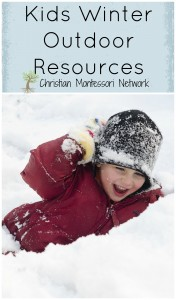 Kids Winter Outdoor Resources