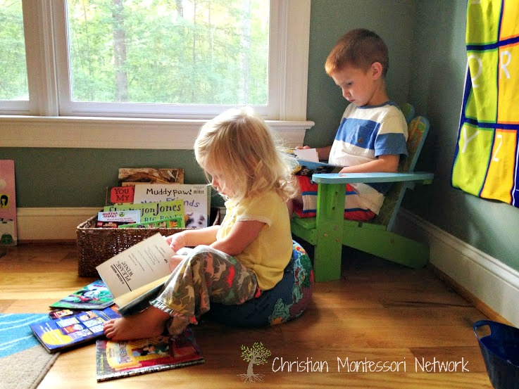 Helping kids to love reading starts early. Find more great kids book resources on ChristianMontessoriNetwork.com