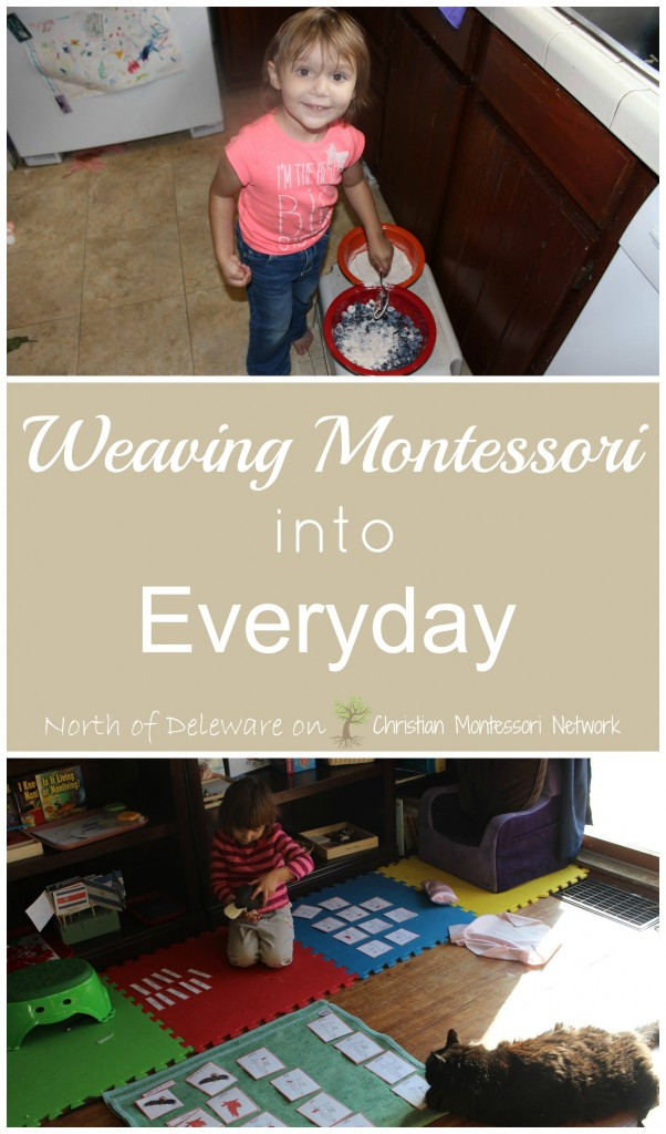 Weaving Montessori Into Everyday guest post by Kathryn Corbett on ChristianMontessoriNetwork.com