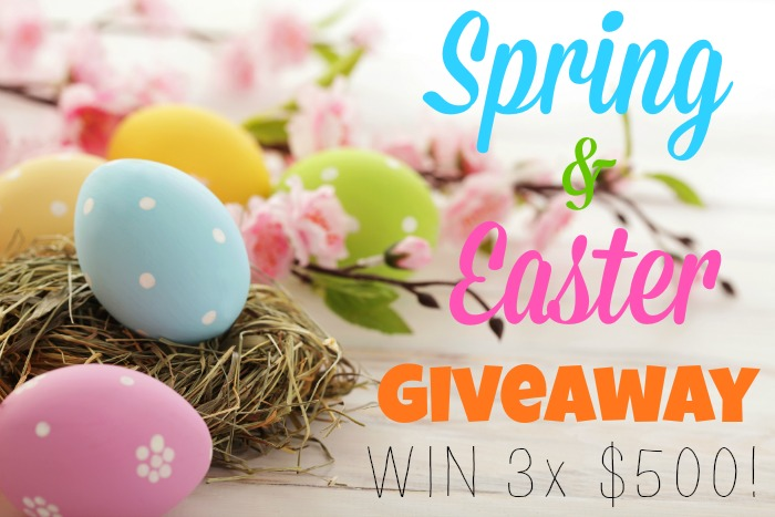 Kid Blogger Network Easter and spring cash giveaway