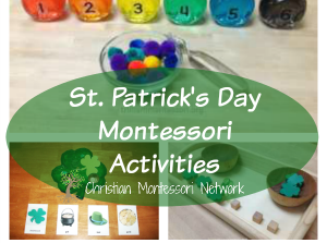 St. Patrick's Day Montessori Activities