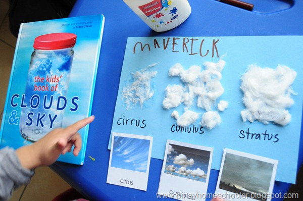 Montessori Inspired Kids Bible Activities - Cloud Activity (Pinay Homeschooler)