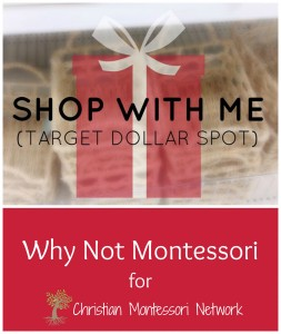 Shop With Me: Montessori Materials | Target Dollar Spot