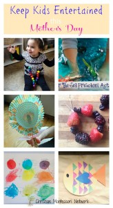 The Best Ways to Keep Kids Entertained this Mother's Day {Learn & Play Link Up #3}