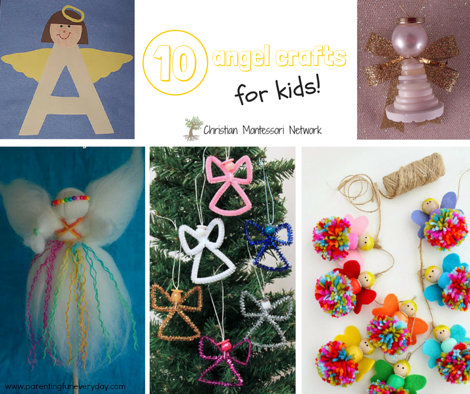 10 angel crafts