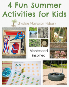 Summer Activities for Kids – Learn & Play Link Up #8