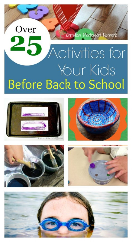 I need some of these ideas to keep the kid busy before back to school!