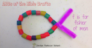 ABCs of the Bible Crafts: F is for Fisher of Men