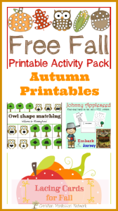 Autumn Printables {Learn & Play Link Up}
