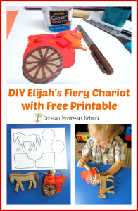 E is for Elijah's Fiery Chariot