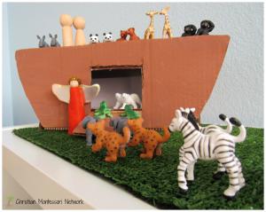 Noah's Ark Shoebox Craft