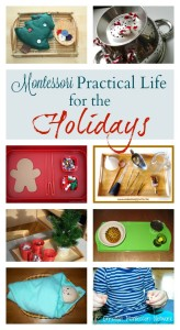 Montessori Practical Life for the Holidays