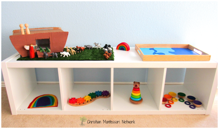 Montessori Shelves - ChristianMontessoriNetwork.com