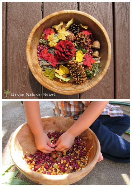 Sensory Bowl - ChristianMontessoriNetwork.com