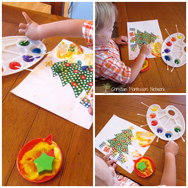 Dot Tree - ChristianMontessoriNetwork.com