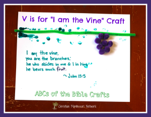V is for the Vine Craft