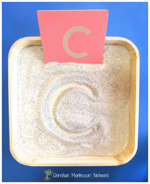 Sparkle Writing Tray - ChristianMontessoriNetwork.com