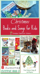 Christmas Books and Songs for Kids {Learn & Play Link Up}