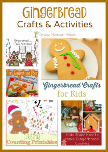 Gingerbread Crafts and Activities {Learn & Play Link Up}