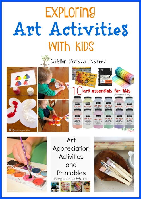 Find new inspiration with our post on Exploring Art Activities with Kids - ChristianMontessoriNetwork.com