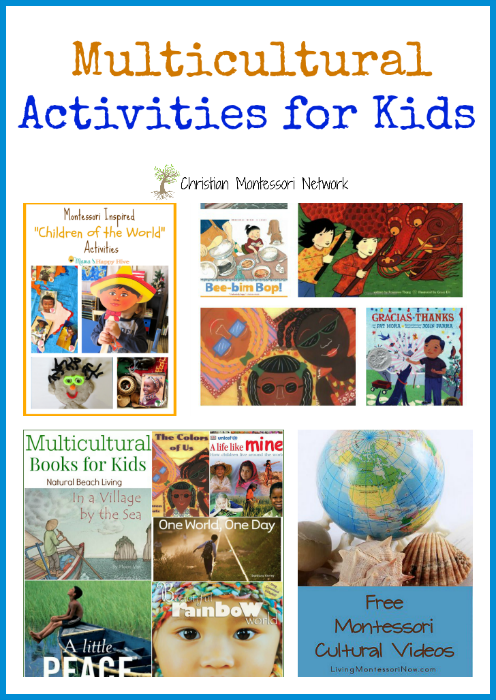 Help your child be a well round world citizen with these Multicultural Activities for Kids on ChristianMontessoriNetwork.com