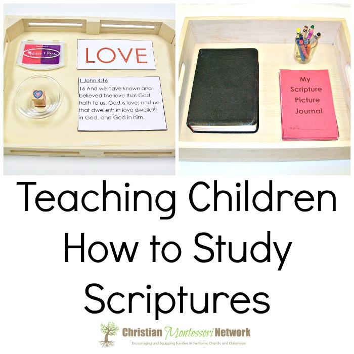 Teaching Children How to Study Scriptures