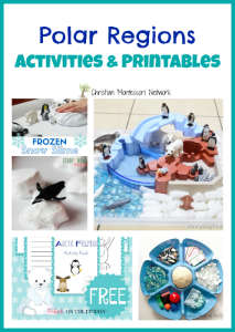 Polar Regions Activities and Printables {Learn & Play Link Up}