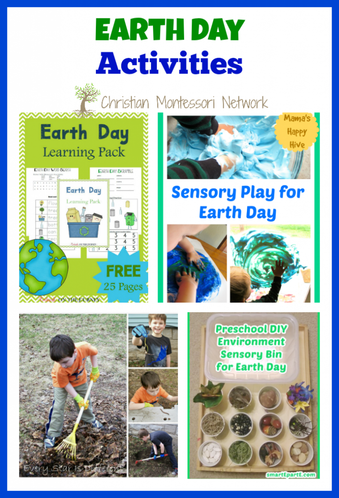 Earth Day is April 22nd this year. Earth Day is a fun holiday to celebrate with kids and open their eyes to being more Earth conscious. Here are several Earth Day activities your kids are going to love! - ChristianMontessoriNetwork.com