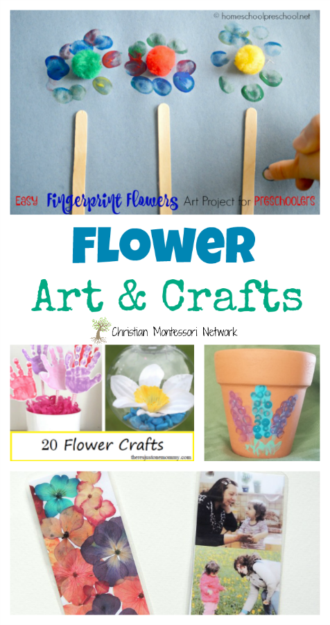 Mother's Day is this weekend! If you need a quick gift idea for your kiddos you will love the flower art and crafts in this week's edition of the Learn & Play Link Up.