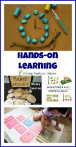 Hands-On Learning {Learn & Play Link Up}