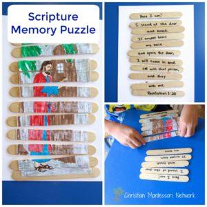 Scripture Memory Puzzle