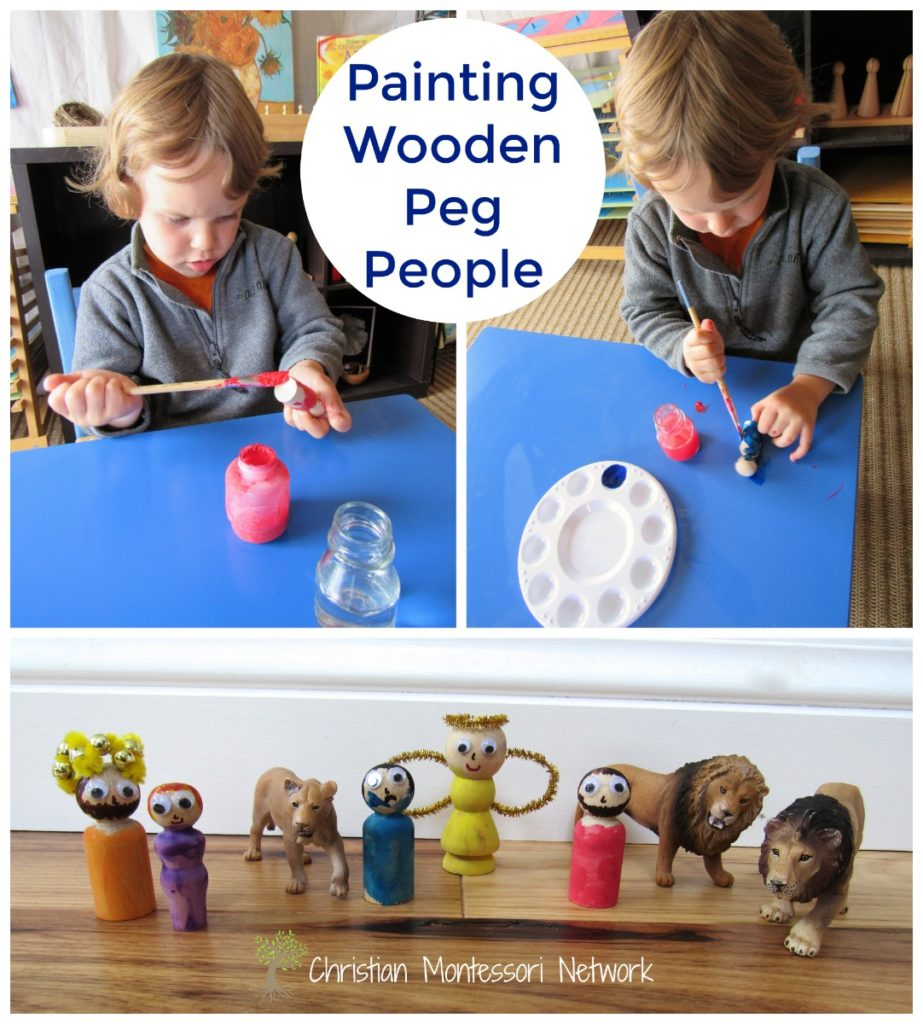 Painting People - ChristianMontessoriNetwork.com