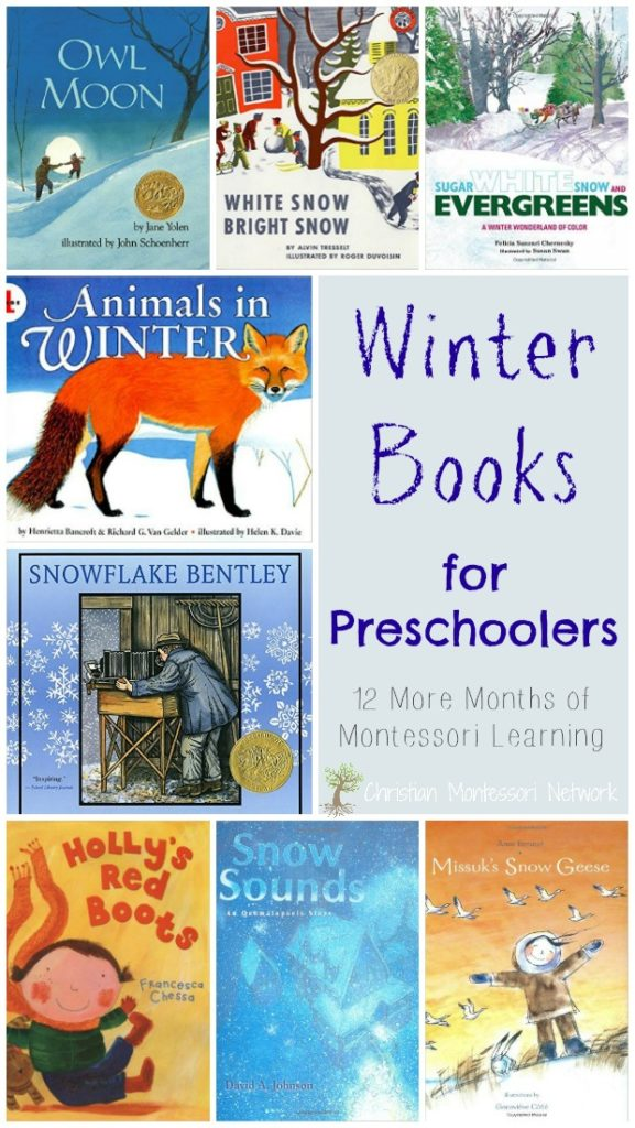 We are so excited to start this year with the 2017 edition of the 12 Months of Montessori Learning. Our theme this month is winter and what better way to celebrate winter than with winter books for preschoolers!