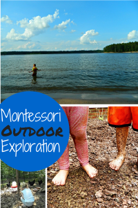 Montessori Outdoor Exploration extension from Montessori Columbus Day  activities at ChristianMontessoriNetwork.com